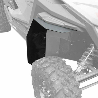 MudBusters Polaris RZR Pro XP 2020 Fender Flares Front Only MAX Coverage 90027