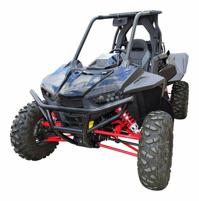 MudBusters Polaris RZR RS1 Fender Extensions Front Only MB-RS1FACTXLFO