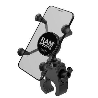 RAM Mounts X-Grip Phone Mount with RAM Snap-Link Tough-Claw RAM-HOL-UN7-400U