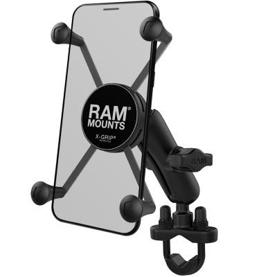 RAM Mounts X-Grip Large Phone Mount with Handlebar U-Bolt Base RAM-B-149Z-UN10U