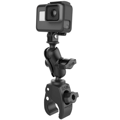 RAM Mounts Tough-Claw Small Clamp Mount with Universal Action Camera Adapter RAM-B-400-A-GOP1U
