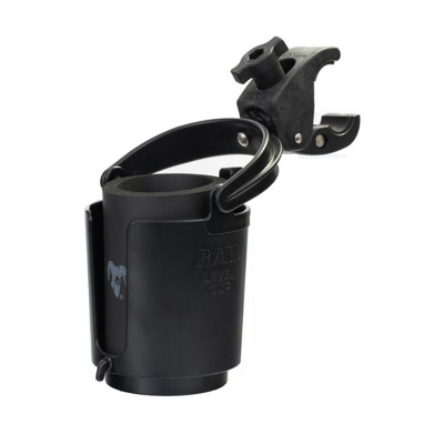 RAM Mounts Level Cup Drink Holder with RAM Tough-Claw Mount 12oz to 16oz RAM-B-132-400U