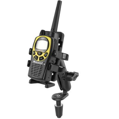 RAM Mounts Fork Stem Mount with RAM Finger-Grip GPS/Radio Holder RAM-B-176-UN4U