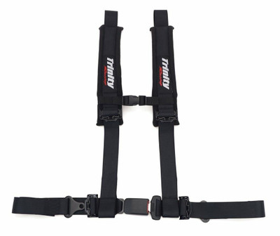 Trinity Racing Harness 4 Point Sewn 2 Inch Auto Latch TR-H402T