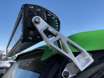 Viper Machine Kawasaki Teryx KRX 1000 Billet Light bar mount for RIGID 40 Light Bars KAW-0104-00-00