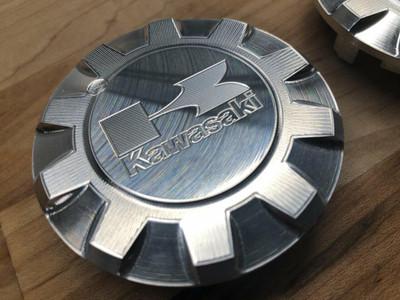 Viper Machine Kawasaki Teryx 2/4 Billet Steering Wheel Cap KAW-0201-00-00