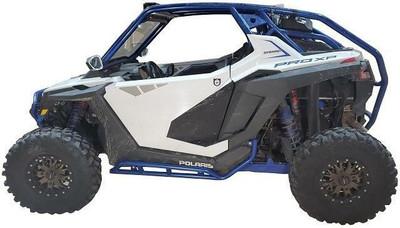 Tab Performance Polaris RZR XP Pro Tubular Rock Sliders Raw 2 Seater 715-2022