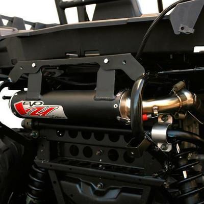 Big Gun Exhaust Polaris RZR 570 Evo U Slip On 2013-2017 12-7582