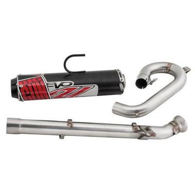 Big Gun Exhaust Polaris RZR 800 Evo U Slip On 2008 - 2010 12-7803