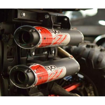 Big Gun Exhaust Polaris RZR XP 1000 Evo U Dual Full System 204-2020 12-7953