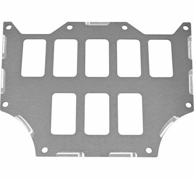 ModQuad Racing Honda Talon 1000X/R Switch Plate Panel Grey 8 Slot 375925