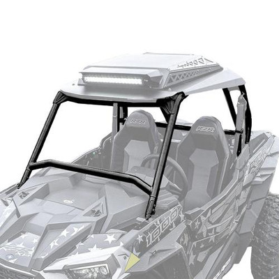 Thumper Fab Polaris RZR XP 1000/Turbo/Turbo S Roll Cage with Audio Roof Black 2 Seat TF020102-BK