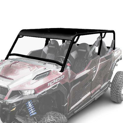 Thumper Fab Polaris General Roll Cage Black 4 Seat TF030202-BK