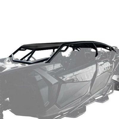 Thumper Fab Can-Am X3 MAX Roll Cage Hi-Brow 2017-20 Black TF050203-BK-HA