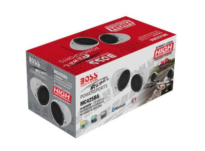 Boss Audio 600 watt Motorcycle/ATV Sound System MC425BA