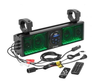 "Boss Audio IPX5 Rated ATV/UTV Sound bar Audio System (18"") (BRT18RGB)"