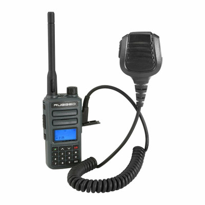 Rugged Radios GMR2 GMRS/FRS with Hand Mic GMR2-G