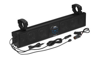 Boss Audio IPX5 Rated ATV/UTV Sound bar Audio System 26 BRT26A
