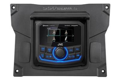 SSV Works Kawasaki Teryx KRX JVC MR1 Media Receiver Kit KX-R1