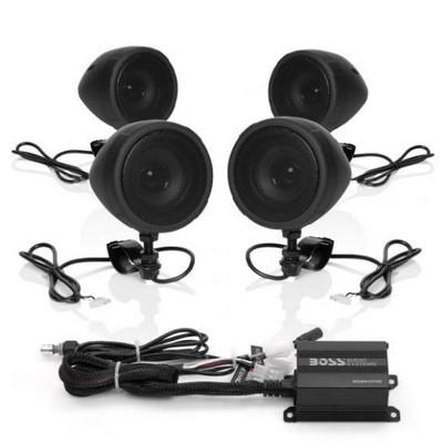 Boss Audio All-Terrain Speaker and Amplifier System 1000W MCBK470B