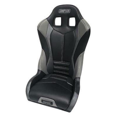 Simpson Pro Sport Honda Talon UTV Seat Black/Charcoal Rear 107-305-TALON-REAR