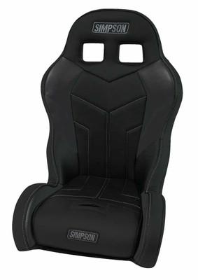 Simpson Polaris RZR 170/570 Aggressor UTV Seat Black/Black Driver 110-304-RZR170-DRIVER