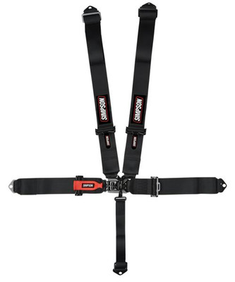 Simpson Racing 3 Latch and Link Safety Harness System 29063BK1X