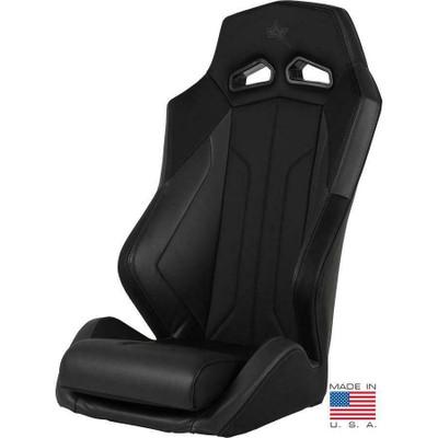 Amped Off-Road Yamaha YXZ ADS-I UTV Suspension Seat Black/Gray 6500BK-YXZ