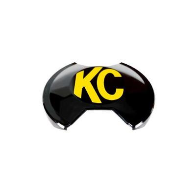 KC HiLiTES 6 Slimlite LED Light Shield Black 5109