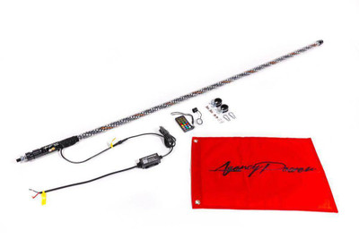 Agency Power Universal LED Whip Pair 5 ft AP-UNI-715