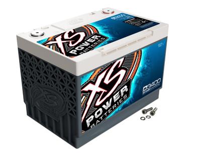 XS Power Batteries D3400 12V AGM Battery 3300A D3400