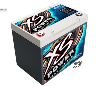 XS Power Batteries D2400 12V AGM Battery 3500A D2400