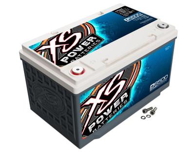 XS Power Batteries D6500 12V AGM Battery 3900A D6500