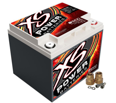 XS Power Batteries S1200 12V AGM Battery 2600A S1200