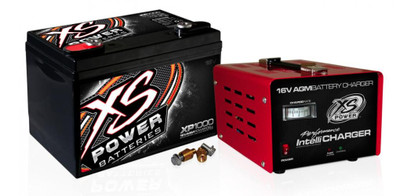 XS Power Batteries XP1000CK2 16V Battery IntelliCharger and 1004 16V 15A XP1000CK2