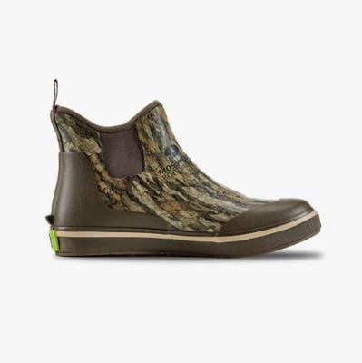 Gator Waders Womens Camp Boots (Mossy Oak Bottomland) (HWFOOC326