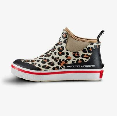 Gator Waders Womens Camp Boots Leopard HWFOOC306