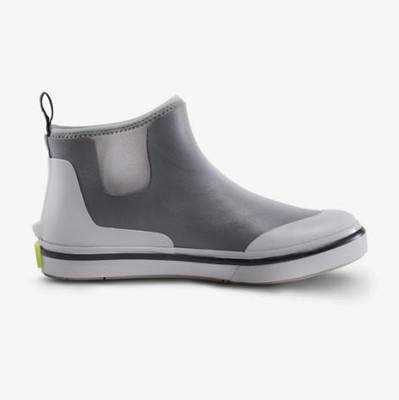 Gator Waders Mens Deck Boots Grey DB10M8