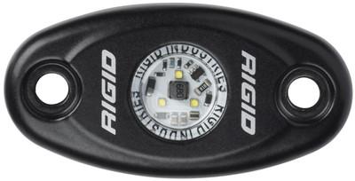 Rigid Industries A-Series Low Power LED Light Warm White Black Housing 480013_RIGID