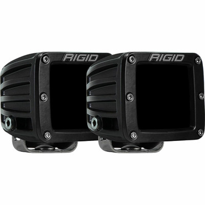 Rigid Industries D-Series Pro Infrared Driving Surface Mount Pair 502393
