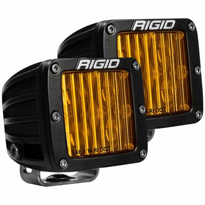 Rigid Industries D-Series Pro DOT/SAE J583 Fog Light Surface Mount Selective Yellow Pair 504814