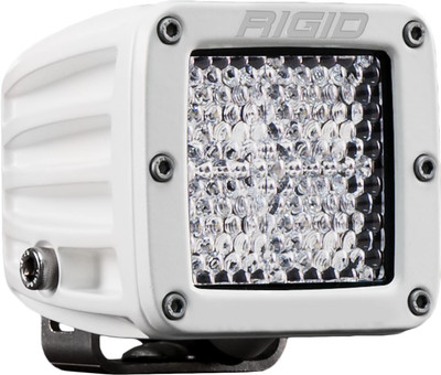 Rigid Industries D-Series Pro Hybrid Diffused Surface Mount White Housing 601513