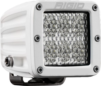 Rigid Industries D-Series Pro Hybrid Specter Diffused Surface Mount White Housing 701513