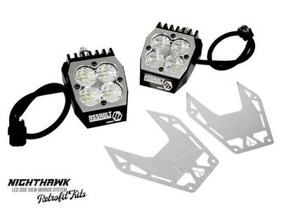 Assault Industries Nighthawk LED Side Mirror Retrofit Kit 101005SM9101