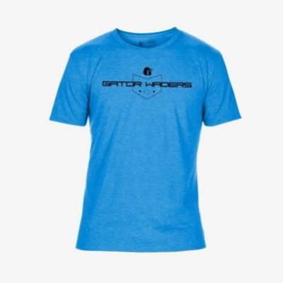 Gator Waders TX Graphic Mens Tee Blue GWGTTEXS