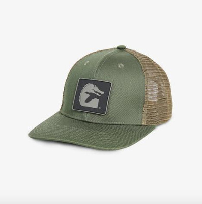 Gator Waders Patch Hat Olive HAT21HOL