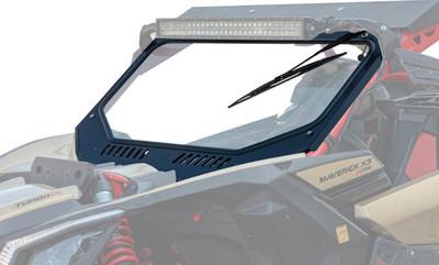 SuperATV Can-Am Maverick X3 Glass Windshield GWS-CA-X3-01