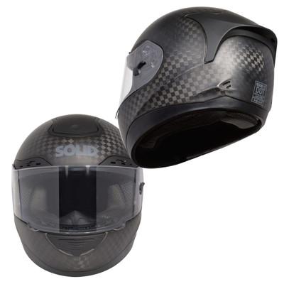 SOLID Helmets S1 12K Carbon Fiber Full Face Helmet SOLID-S1