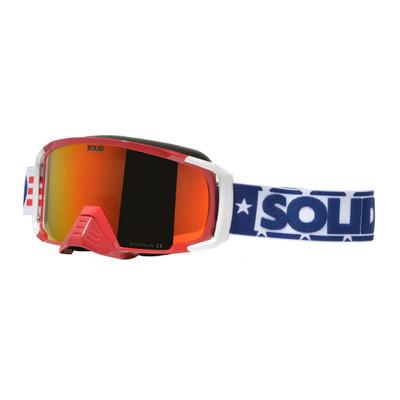 SOLID Helmets Apollo Goggles Patriot SOLID-GGL-PT
