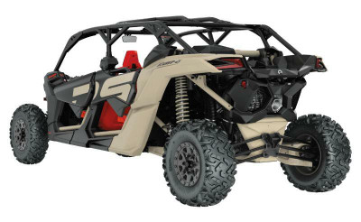 LM UTV Can-Am Maverick X3 Radius Rods 72 Desert Tan HC LMU-RRR-02-02-DTPC